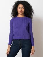 Sadies purple sweater at American Apparel at American Apparel