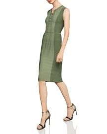 Safari Lace-Up Body-Con Dress by Bcbgmaxazria at Bloomingdales