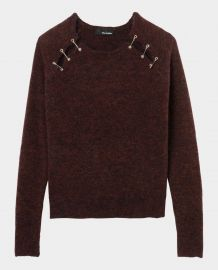 Safety pin sweater at The Kooples
