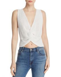 Sage the Label Say You Love Me Twist-Front Knit Top Women - Bloomingdale s at Bloomingdales