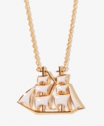 Sailboat necklace from Forever 21 at Forever 21