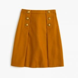Sailor Skirt In Double-Serge Wool at J. Crew