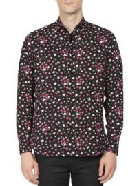Saint Laurent - Multi-Color Star Printed Shirt at Saks Fifth Avenue