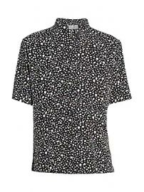 Saint Laurent - Pebble-Print Short-Sleeve Shirt at Saks Fifth Avenue