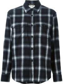 Saint Laurent Classic Plaid Shirt - Joy Style Concept at Farfetch