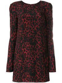 Saint Laurent Leopard Print Mini Dress  1 590 - Buy Online SS18 - Quick Shipping  Price at Farfetch