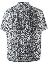 Saint Laurent Leopard Print Shirt at Farfetch