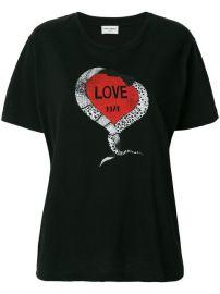 Saint Laurent Love 1974 T-shirt at Farfetch
