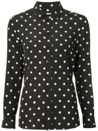 Saint Laurent Polka Dot Print Shirt at Farfetch