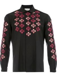Saint Laurent Russian Embroideries Shirt - Farfetch at Farfetch