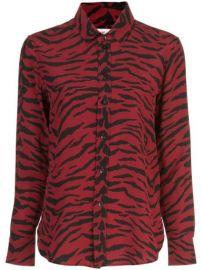 Saint Laurent Zebra Print Shirt - Farfetch at Farfetch