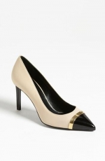 Saint Laurent cap toe pump at Nordstrom