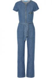 Saint cotton-chambray jumpsuit at The Outnet