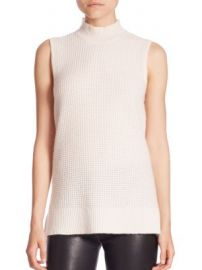 Saks Fifth Avenue Collection - Cashmere Mockneck Top at Saks Fifth Avenue