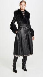 Saks Potts Foxy Shearling Belted Coat at Shopbop
