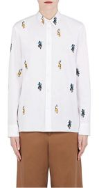 Sally Smart Embroidered Cotton Shirt by Marni at Barneys