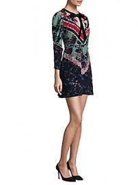 Saloni - Aleria Silk Mini Dress at Saks Off 5th
