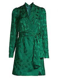 Saloni - Bibi Silk Dress at Saks Fifth Avenue