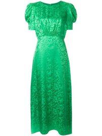 Saloni Bianca Jacquard Dress - Farfetch at Farfetch