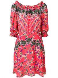 Saloni Grace Mini Dress - Farfetch at Farfetch