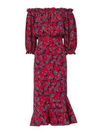Saloni Grace Off-The-Shoulder Dress at Intermix