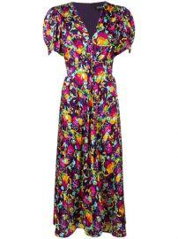 Saloni Lea Dress - Farfetch at Farfetch