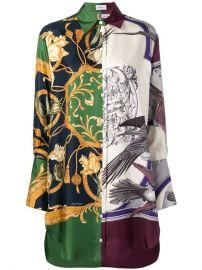 Salvatore Ferragamo Baroque Print Dress - Farfetch at Farfetch