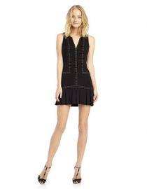 Sam Edelman Embellished Pleated Dress at Lord & Taylor