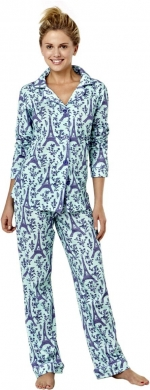 Same PJs in purple at Amazon