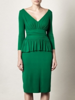 Same dress in a brighter green at Matches