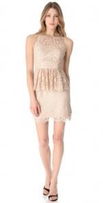 Same dress in beige or pink at Shopbop