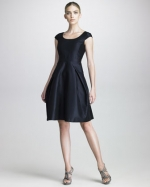 Same dress in navy blue at Saks Fifth Avenue