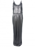 Same dress in silver at Farfetch