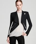 Same jacket in black at Bloomingdales
