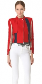 Janes red leather jacket at Shopbop