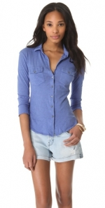 Same shirt in a different shade of blue at Shopbop
