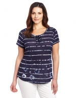 Same shirt in plus size at Amazon