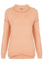 Same sweater in peach at Topshop