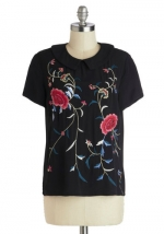 Same top in black at Modcloth