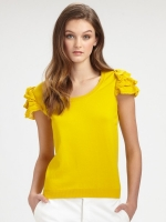 Same top in blue at Saks Fifth Avenue