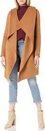 Samia-n Ladies Belted Wool Coat at Amazon