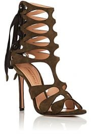 Samuele Failli Diane Suede Sandals at Barneys