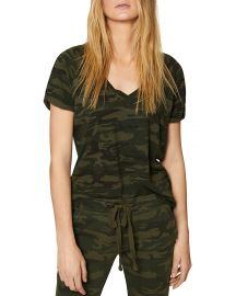 Sanctuary Camo V-neck Tee at Bloomingdales