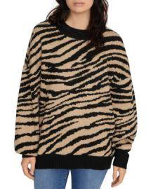 Sanctuary Animal Print Sweater Women - Bloomingdale s at Bloomingdales