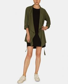 Sanctuary On The Go Belted Jacket   Reviews - Jackets   Blazers - Women - Macy s at Macys