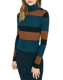 Sanctuary Striped Turtleneck Sweater  Women - Bloomingdale s at Bloomingdales