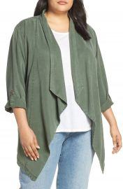 Sancutary On The Go Belted Waterfall Jacket  Plus Size    Nordstrom at Nordstrom