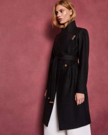 Sandra Wrap Coat at Ted Baker