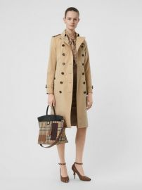 Sandringham trench at Burberry