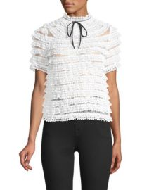 Sandro  Lace Top at Saks Fifth Avenue